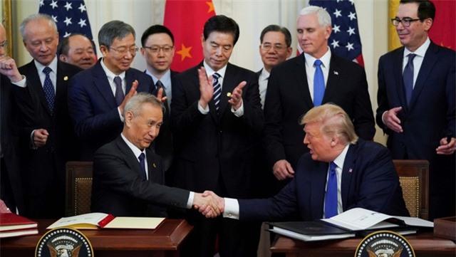 Mỹ, Trung Quốc chính thức ký thỏa thuận thương mại giai đoạn 1 - 1