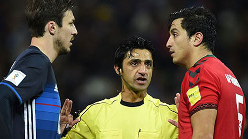 Trọng tài người Iraq, ông Mohanad Qasim Eesee Sarray sẽ bắt chính trận U23 Việt Nam gặp U23 Triều Tiên.