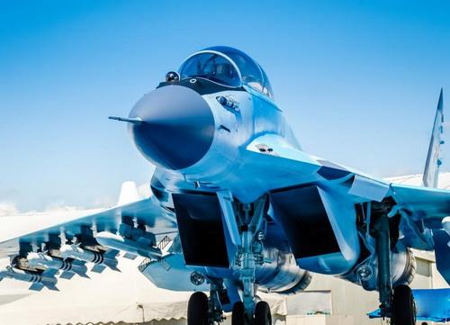 Tiêm kích đa năng MiG-35 của Nga vẫn chưa ký được hợp đồng xuất khẩu nào. Ảnh: TASS.