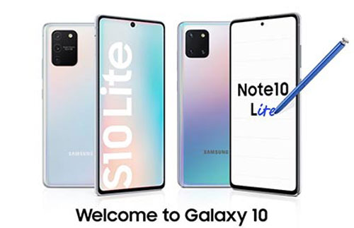 Samsung Galaxy S10 Lite và Note 10 Lite.