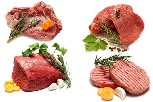 Thịt đỏ: Một số loại thịt có hàm lượng purine cao. Cơ thể chuyển hóa purine thành axit uric. Nếu quá tải, axit uric có thể xâm nhập vào máu và gây bệnh gút. Thịt đỏ, đặc biệt là thịt cừu, có hàm lượng purine rất cao.