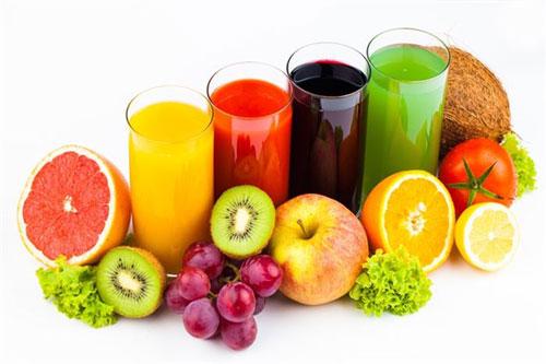 Nước trái cây ép gây nguy hiểm cho trẻ sơ sinh
