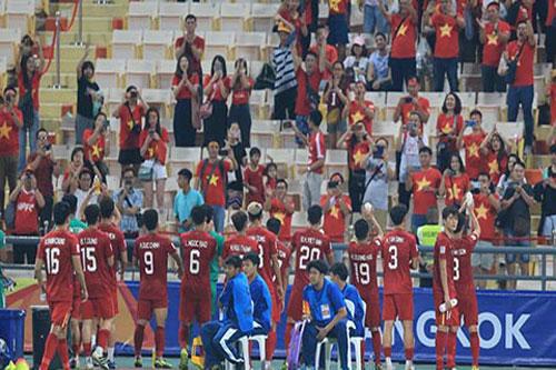 U23 Việt Nam chia thành 2 nhóm để về nước