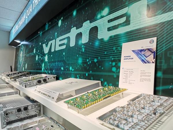 Viettel là một trong số ít doanh nghiệp trên thế giới làm chủ sản xuất thiết bị 5G.
