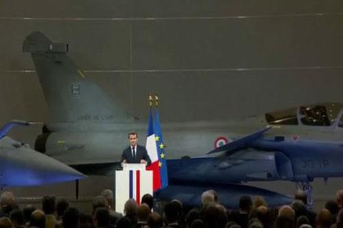 Pháp sẽ triển khai tàu sân bay tới Trung Đông