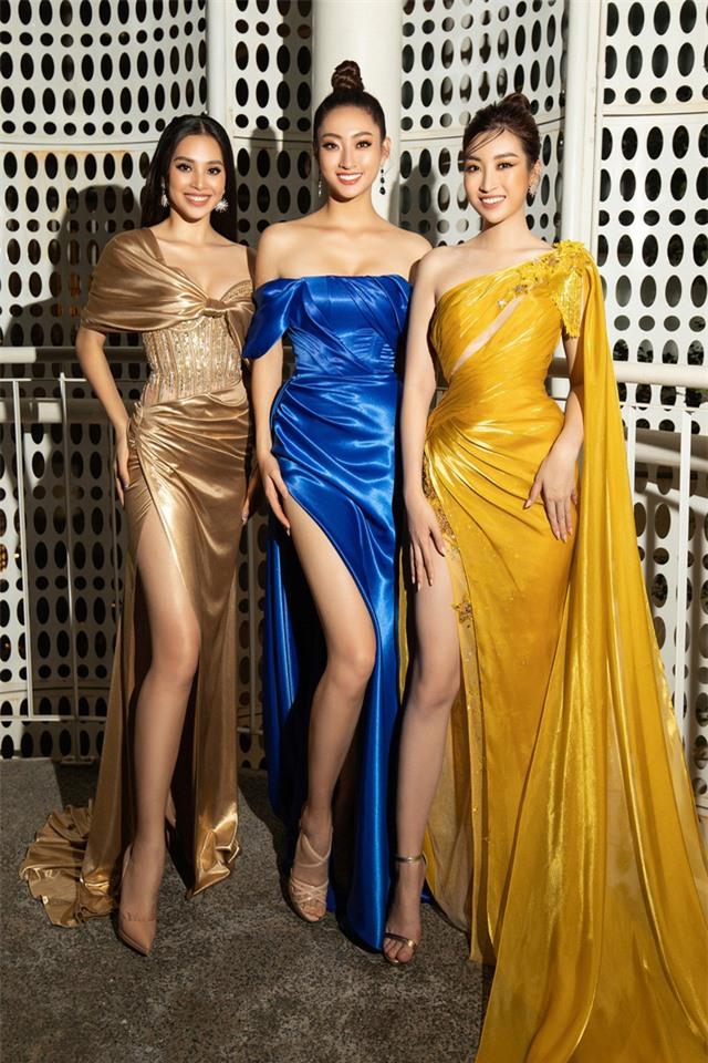 Đỗ Mỹ Linh tự tin đọ sắc với hai Hoa hậu thế hệ 2K - Ảnh 4.