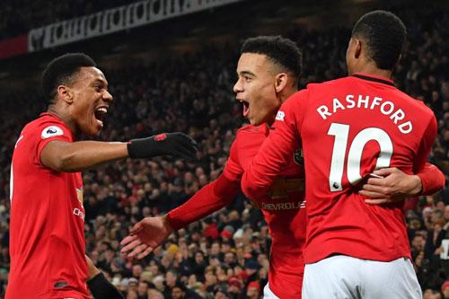 M.U sở hữu tam tấu còn khủng khiếp hơn Salah, Mane, Firmino của Liverpool