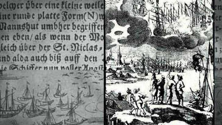 Vào ngày 8/4/1665, một sự kiện liên quan đến UFO của người ngoài hành tinh gây xôn xao dư luận xảy ra ở Barhöfft (từng thuộc Thụy Điển, nay là lãnh thổ thuộc Đức).