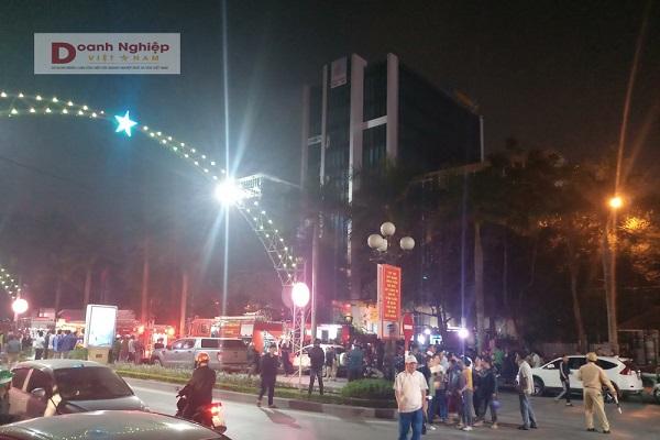 Thanh Hóa: Cháy lớn tại tòa nhà dầu khí, 1 nạn nhân tử nhân