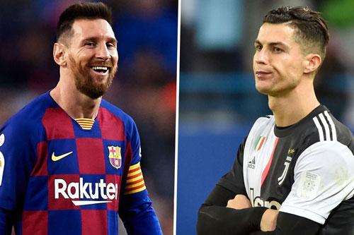 Messi và Ronaldo (phair0.