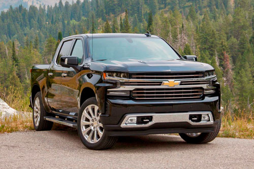 10. Chevrolet Silverado (doanh số: 644.013 chiếc).