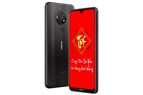Nokia 7.2 (từ 6,19 triệu đồng xuống còn 5,49 triệu đồng).
