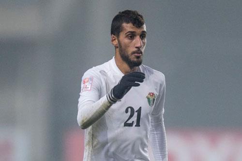 Hậu vệ phải: Ward Al-Barri (U23 Jordan).