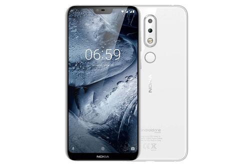 Nokia 6.1 Plus (từ 3,99 triệu đồng xuống còn 3,59 triệu đồng).