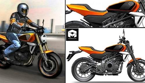 Harley-Davidson có dung tích 338 cc