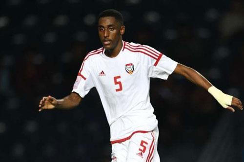 Trung vệ: Khalifa Al-Hammadi (U23 UAE).