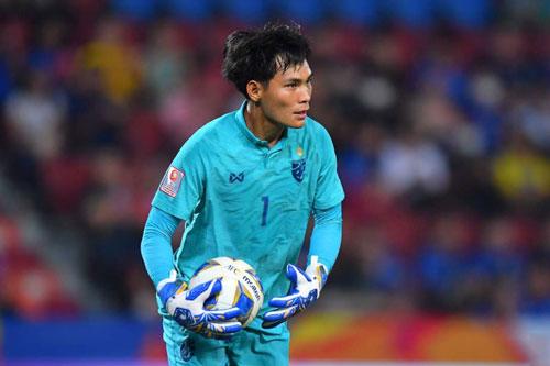 Thủ môn: Korraphat Nareechan (U23 Thái Lan).