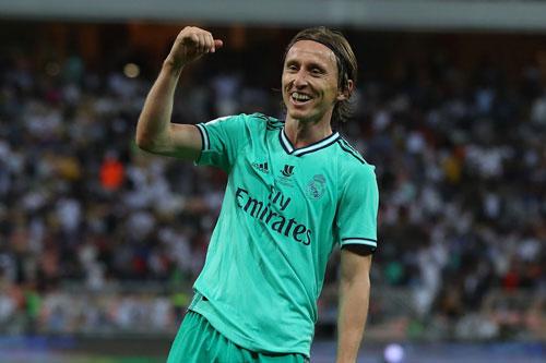6. Luka Modric (mức lương: 180.000 bảng).