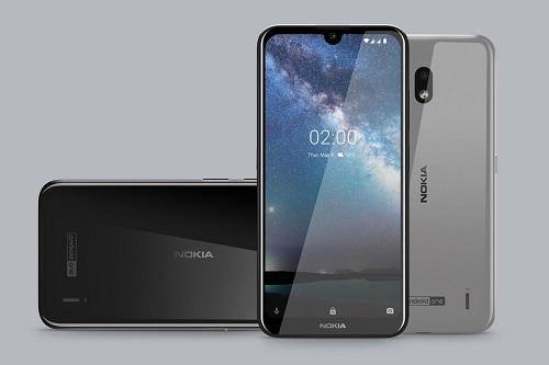 Nokia 2.2 (1,99 triệu đồng xuống còn 1,79 triệu đồng).