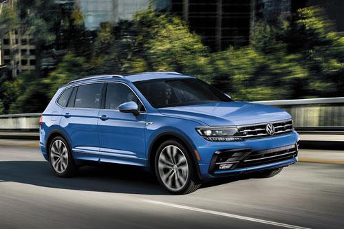 6. Volkswagen Tiguan (doanh số: 741.297 chiếc).