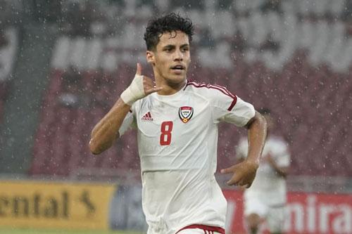 Tiền vệ cánh trái: Ali Saleh (U23 UAE).