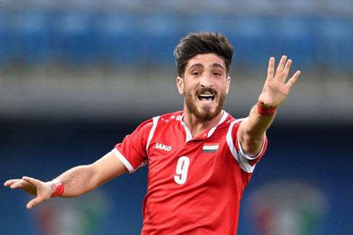 Tiền đạo: Abdalrahman Barakat (U23 Syria).