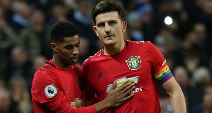 Rashford và Maguire là 2 cầu thủ hiếm hoi của Man United lọt vào đội hình kết hợp