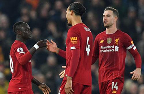 Liverpool chiếm ưu thế lớn.