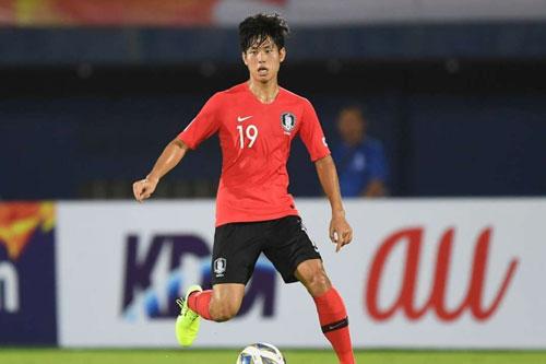 Tiền vệ trung tâm: Mang Sung-ung (U23 Hàn Quốc).