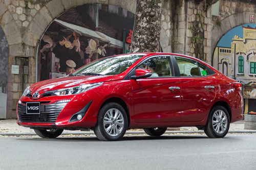 Toyota Vios 2020.