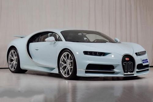 'Hàng độc' Bugatti Chiron Vainqueur de Coeur rao bán gần 4 triệu USD