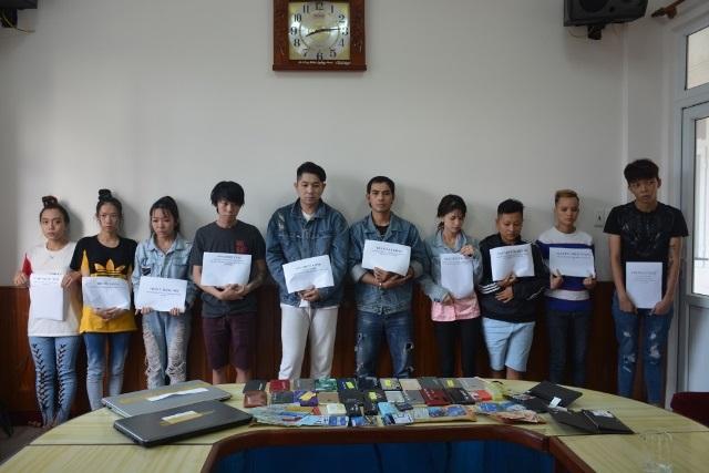 10 đối tượng trong đó có cả người Malaysia đã bị Công an Quảng Nam bắt giữ.