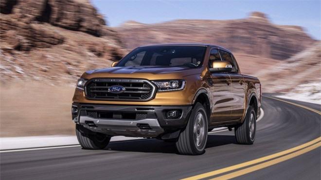 Ford Ranger là mẫu bán tải ăn khách nhất trên thị trường.