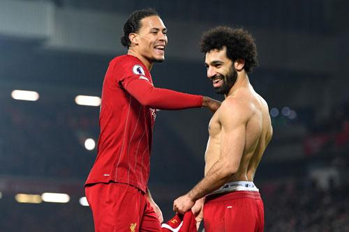Đội hình tiêu biểu vòng 23 Premier League: Liverpool áp đảo