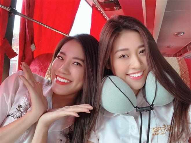 Á hậu Thúy Vân phản pháo khi bị nói thường xuyên không tham gia hoạt động cùng Khánh Vân và Kim Duyên vì bất mãn danh hiệu  - Ảnh 3.