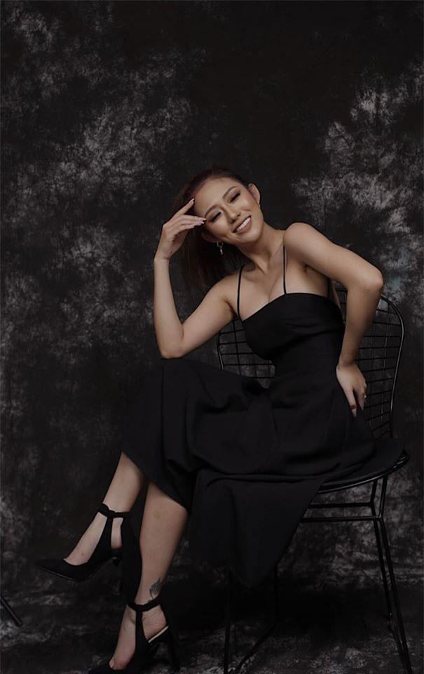 """Bat ngo voi gu thoi trang dau troc sexy cua nu dien vien """"Song chung voi me chong""""-Hinh-3"""