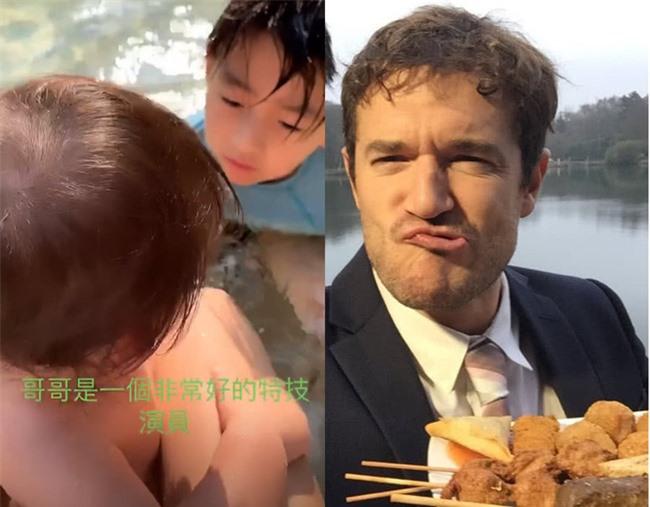 Chỉ với hành động này, Trương Bá Chi đã gián tiếp thừa nhận bé Marcus chính là con lai, netizen gọi tên người bạn trai ngoại quốc? - Ảnh 6.