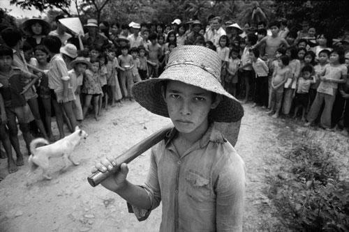 """Ảnh """"độc"""" về con lai Việt – Mỹ sau chiến tranh Việt Nam"""