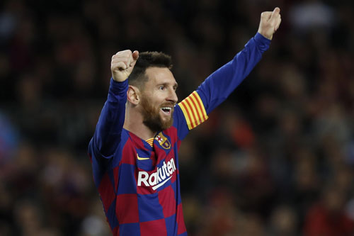 6. Lionel Messi (Barcelona, 140 trận).