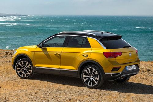 6. Volkswagen T-Roc (doanh số: 58.898 chiếc).