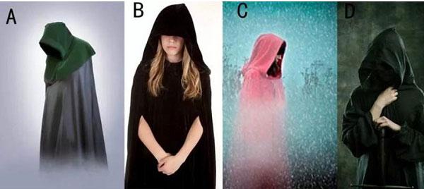 Bạn chọn chiếc áo choàng nào?
