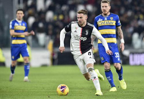 Aaron Ramsey gia nhập Juventus theo dạng chuyển nhượng tự do.