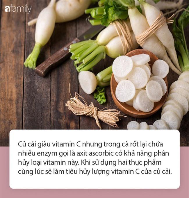 """Củ cải trắng đại bổ nhưng lại là """"độc dược"""" nếu kết hợp với 6 loại thực phẩm này, đừng dại mà thử kẻo lâm bệnh - Ảnh 3."""