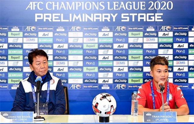 HLV Chung Hae Seong của CLB TPHCM đánh giá cao Buriram United - 1