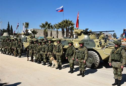 Binh sĩ Nga tại Aleppo, Syria