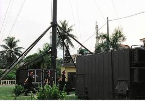 Trạm radar thụ động Vera-NG do Cộng hòa Czech sản xuất.