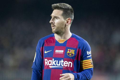 1. Lionel Messi (mức lương: 500.000 bảng/tuần).