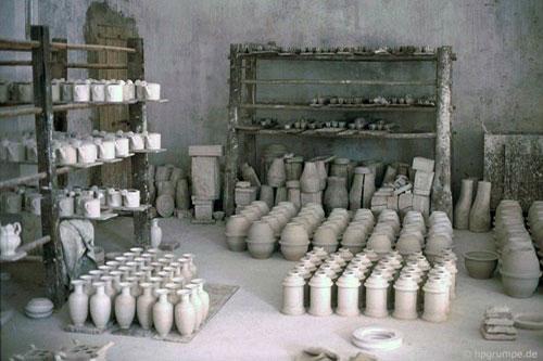 Kho ảnh khổng lồ về Việt Nam 1991-1993: Làng gốm cổ Bát Tràng