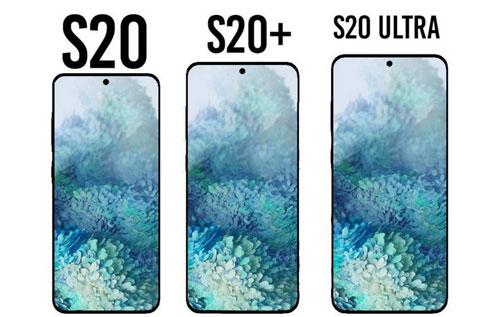 Thiết kế tổng thể của bộ ba Galaxy S20/S20+ và S20 Ultra