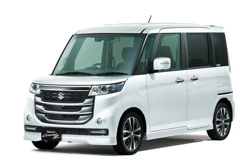 3. Suzuki Spacia (doanh số: 166.389 chiếc).